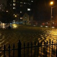 Photo taken at Frankenstorm Apocalypse - Hurricane Sandy by Julian E. on 10/29/2012