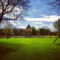 Photo taken at Victoria Park by Julian E. on 4/27/2013