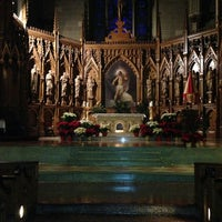 Photo taken at St. Patrick's Old Cathedral by Latha S. on 12/29/2012
