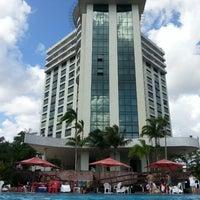 Photo taken at Park Suites Manaus by Thiago Q. on 3/12/2013