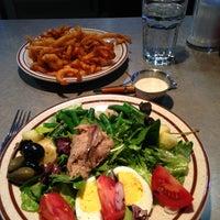 Photo taken at Fat Apple's Restaurant & Bakery by Elena G. on 2/13/2013