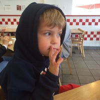 Photo taken at Five Guys by Lisa A. on 2/1/2014