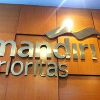 Photo taken at Bank Mandiri Juanda by nUnU🌸nURni.Z on 1/7/2013