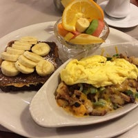 Photo taken at Egg Harbor Cafe by Alex Y. on 1/4/2014