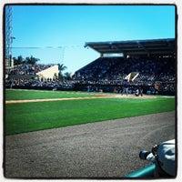 Photo taken at Publix Field at Joker Marchant Stadium by Ken K. on 3/6/2013