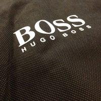 Photo taken at Hugo Boss by Ben G. on 3/19/2014