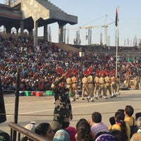 Photo taken at Wagah Border - India Pakistan Border by Herenna N. on 5/27/2016