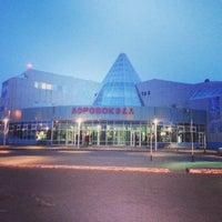 Photo taken at Khanty-Mansiysk International Airport (HMA) by Anton S. on 4/11/2013