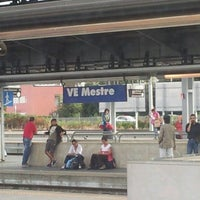 Photo taken at Venezia Mestre Railway Station (XVY) by Bruno T. on 9/28/2012