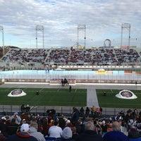 Photo taken at Hersheypark Stadium by Kate B. on 1/19/2013