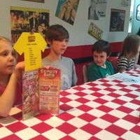 Photo taken at Happy Days Diner by Christy B. on 4/13/2014