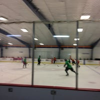 Photo taken at Raleigh Center Ice by LeAnn H. on 5/23/2013