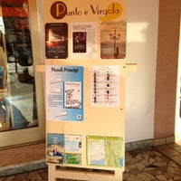 Photo taken at Libreria Punto E Virgola by Massimo P. on 7/11/2013