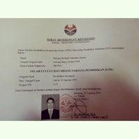 Photo taken at Fakultas Pendidikan Ekonomi dan Bisnis (FPEB) by Bintang Richard Valentino S. on 8/27/2015