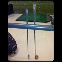 Photo taken at Robert Morris University Island Sports Center - Golf Dome by Sab S. on 2/17/2013