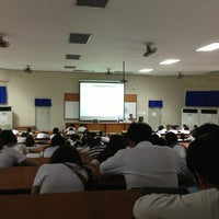 Photo taken at Lecture Hall 3 by Narongsak M. on 2/15/2013