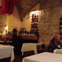 Photo taken at Osteria Del Pettirosso by Michela D. on 2/1/2014