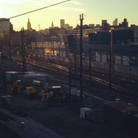 Photo taken at Sunnyside Yard by Scottie R. on 10/16/2012