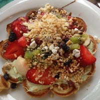 Photo taken at Kemal Usta Waffles by Merve G. on 5/17/2013