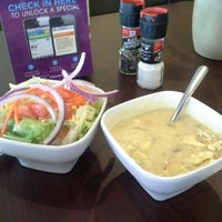 Photo taken at Crispers Fresh Salads, Soups and Sandwiches by Michael S. on 1/11/2013