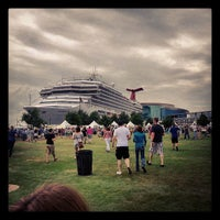 Photo taken at Town Point Park by Keith P. on 5/19/2013