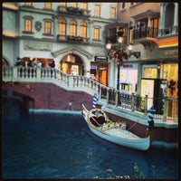 Photo taken at Canaletto Ristorante Veneto Las Vegas by Tony K. on 1/7/2013