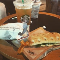 Photo taken at Starbucks by Angie H. on 9/2/2015