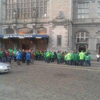 Photo taken at Gare de Verviers-Central by Vincent L. on 2/21/2013