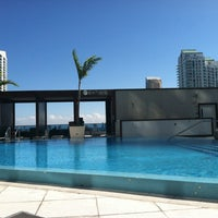 Photo taken at Epic Rooftop Pool by Erin C. on 2/1/2013