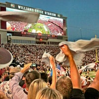 Photo taken at Williams-Brice Stadium by Heavy on 10/7/2012