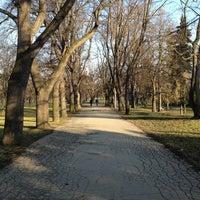 Photo taken at Letná Park by Kristýna V. on 3/5/2013