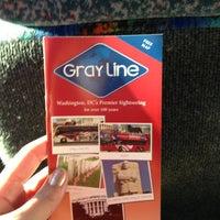 Photo taken at Gray Line Tours of Washington DC by Bridgette L. on 5/26/2013