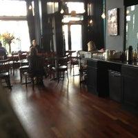Photo taken at Vinyl Coffee & Wine Bar by Jaemie on 1/29/2013