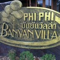 Photo taken at Phi Phi Banyan Villas by Mam D. on 4/10/2013