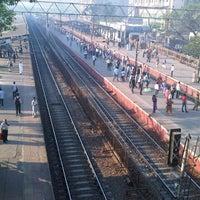 Photo taken at Jogeshwari Railway Station by Hardik B. on 2/21/2013
