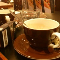 Photo taken at Café Cappucino by Alice Z. on 1/25/2013