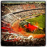 Photo taken at Estadio Monumental (River Plate) by Patricio Andrés L. on 3/7/2013