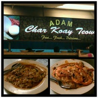 Photo taken at Adam Char Koey Teow by Emma O. on 9/28/2012