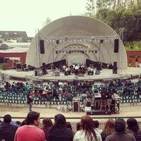 Photo taken at Anfiteatro San Pedro de la Paz by Felipe F. on 3/16/2013
