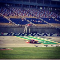 Photo taken at Kentucky Speedway by Jason B. on 6/27/2013