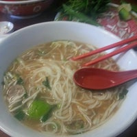 Photo taken at Pho Binh by Genoveva H. on 2/28/2015