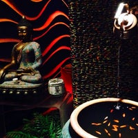 Photo taken at Hachi Asian Bistro by Dasha R. on 3/25/2014