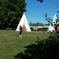 Photo taken at Wigwam Village #2 by Jonathan C. on 9/15/2015