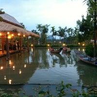 Photo taken at Siam Niramit Phuket by Дэнис on 1/25/2013