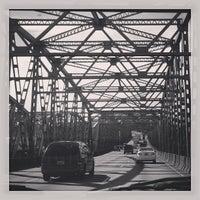 Photo taken at Interstate Bridge by Meg S. on 3/25/2013