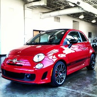 Photo taken at Bergstrom FIAT of Milwaukee by Luke B. on 7/18/2013