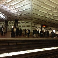 Photo taken at Metro Center Metro Station by Justin M. on 1/20/2013