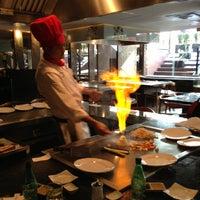Photo taken at Yamato Japanese Restaurant by Kim U. on 2/13/2013