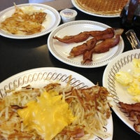 Photo taken at Waffle House by Karin G. on 2/19/2013