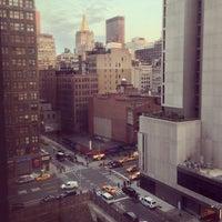 Photo taken at Hampton Inn Manhattan-Madison Square Garden Area by Lev K. on 4/15/2013